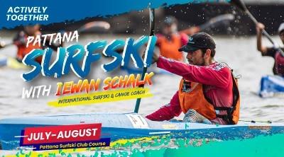 Pattana Surfski with Iewan Schalk