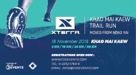 XTERRA KHAO MAI KAEW TRAIL RUN 2018